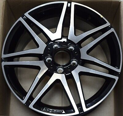 "GENUINE AMG MERCEDES C CLASS C63 W204 18"" 8.5J  7 TWIN ALLOY WHEEL A2044010704 for sale  Gatwick"