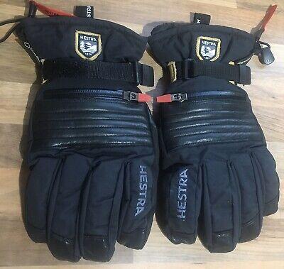 Hestra Mens Quality Ski Gloves Size 9 Uk M/L
