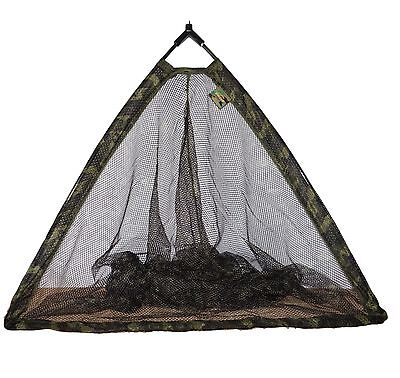 "Dinsmores Syndicate Camo Power 80cm / 30"" Folding Specimen Landing Net"