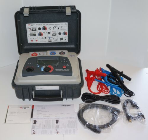 MEGGER MIT1525 15KV INDUSTRIAL INSULATION RESISTANCE TESTER NEW