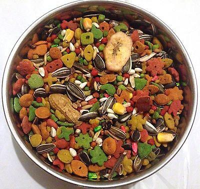 Special Bird (BBA Special bird food mix parrot diet small medium parrot fruitblend)