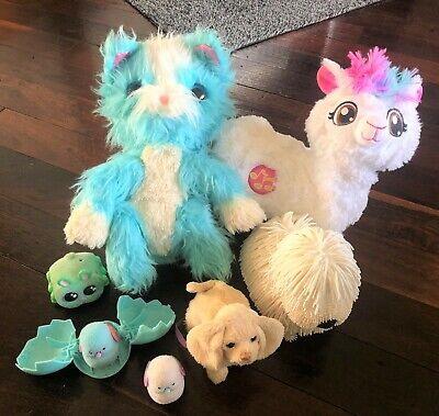 Pets Alive BOPPI LLAMA Little Live NOODLE PUP Scruff-A-Luvs Real Rescue YELLIES