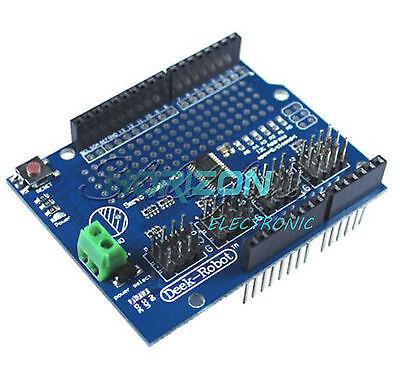 16 Channel 12-bit Pwm Servo Drive Shield Board -i2c Pca9685 For Arduino New