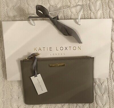 Katy Loxton Pouch BRAND NEW with Tags Pebble Colour