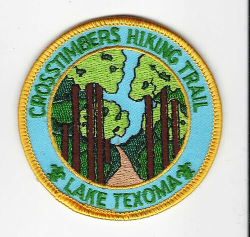 BOY SCOUT  CROSSTIMBERS TRAIL PATCH  TEXAS