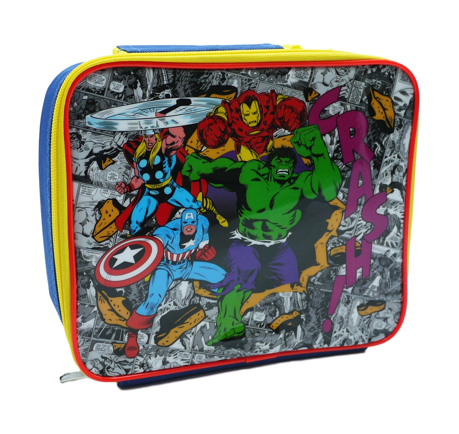 Marvel Comics Avengers Lunch Bag