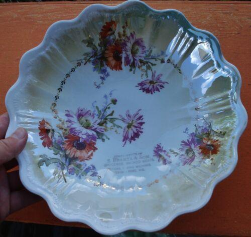 Antique Stevens Point  Wisconsin S. Branta & Son Souvenir bowl