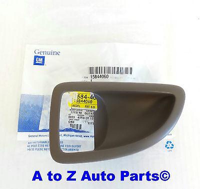 NEW Chevrolet Uplander,Pontiac,Buick RH Passenger Side TAN Door Handle BEZEL,GM
