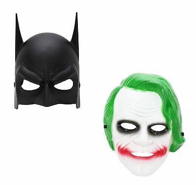 Batman And Joker Halloween Costumes (Halloween Masks Batman and The Joker Cosplay Couples Costume Fancy)