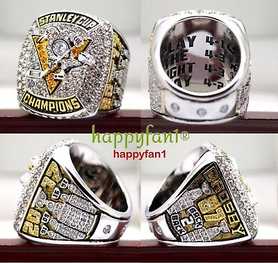 2017 Pittsburgh Penguins Championship Ring Crosby Stanley Cup Premium Size 7 14