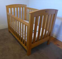 BOORI COUNTRY COLLECTION COT  WITH INNER SPRING MATTRESS Gilberton Walkerville Area Preview