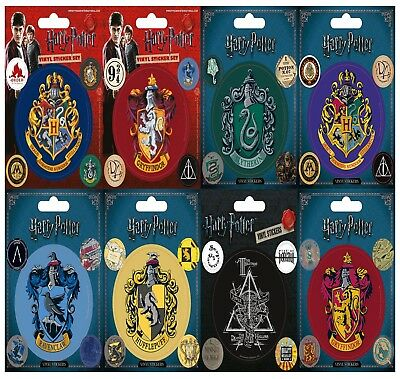 New Harry Potter Vinyl Stickers Five Sticker Sheet Pyramid Gift Official UK G33K