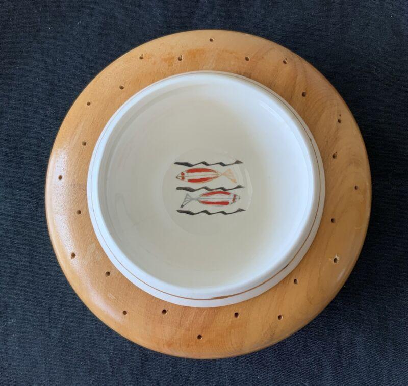 Woodpecker Woodware Tidbit Appetizer Bowl