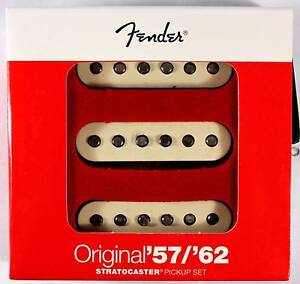 Genuine Fender Original 57/62 Strat Pickups Set - New in Box Leeming Melville Area Preview