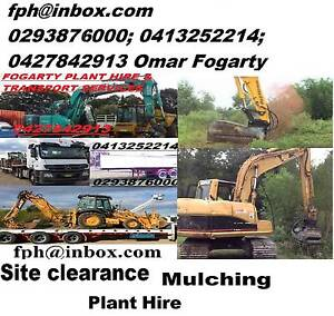 Site clearance services and plant Hire Parramatta Area Preview