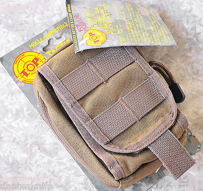 TOPS Gear, Small Utility/Electronics Pouch, Coyote Tan, Supe