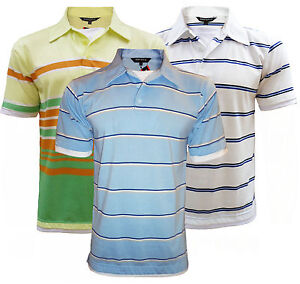 EMPORIO MENS 3-PACK POLO SHIRTS 8 VARIATIONS