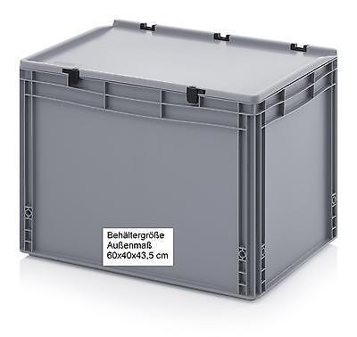 60x40x43,5 cm Plastik Behälter Kiste Box für Sport Spiel Fun Outdoor Camper Y203