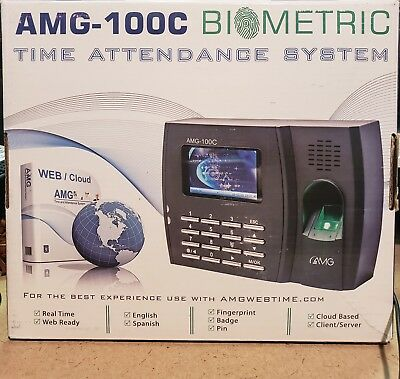 Amg Amg100c Biometric Finger Print Reader