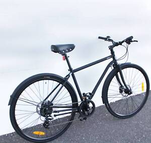 New Commuter CrMo frame Shimano hydraulic disc brakes and 8 speed