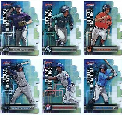 2019 Bowman's Best Future Foundations Singles - You Pick - Complete Your