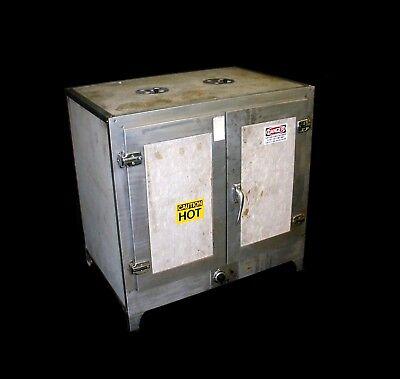 Boekel 2000 Watt 2 Shelf 2 Door Stainless Steel Interior Convection Incubator