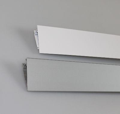 Beleuchtung Band (Alu Profil für LED Band Alu Weiß Aluminiumprofil Wand Beleuchtung Typ-9220click)