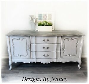 Lovely Farmhouse Style French Provincial Sideboard/Dresser!