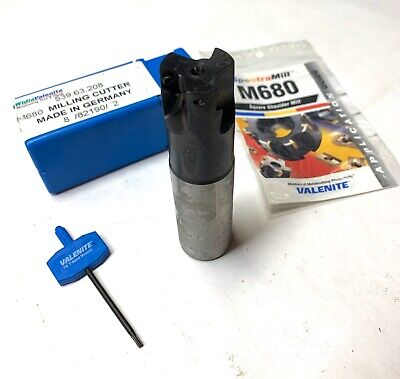 Valenite Indexable Square Shoulder Mill - M680 539.63.208 - New