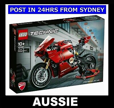 LEGO Technic 42107 ~ Ducati Panigale V4 R Motorcycle ~ NEW