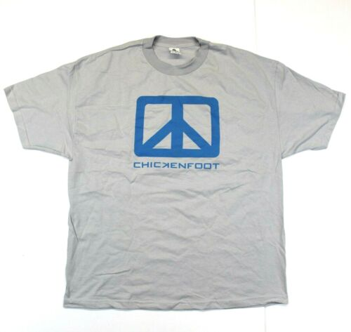 Chickenfoot Band Logo Tee - Alstyle T-Shirt - Gray - 2XL