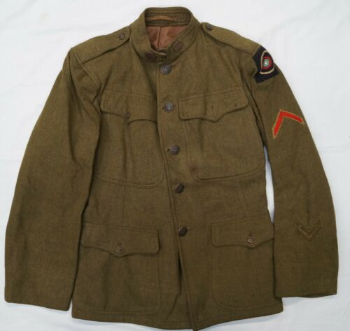 WW1 US United States Army Air Service 1st Corps Other Ranks Tunic Jacket