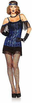 LEG AVENUE ADULT WOMENS GREAT GATSBY FLAPPER DANCER HALLOWEEN COSTUME  XS-3X/4X - 3x Halloween Costume Womens