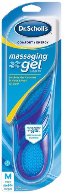 Dr. Scholls Shoe Gel Insoles Feet Arch Support Orthotic Inse