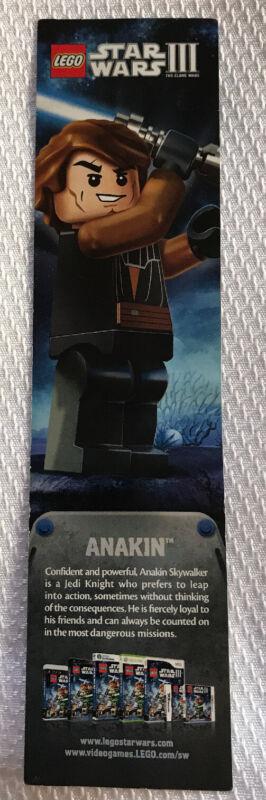 LEGO Star Wars III ANAKIN Bookmark