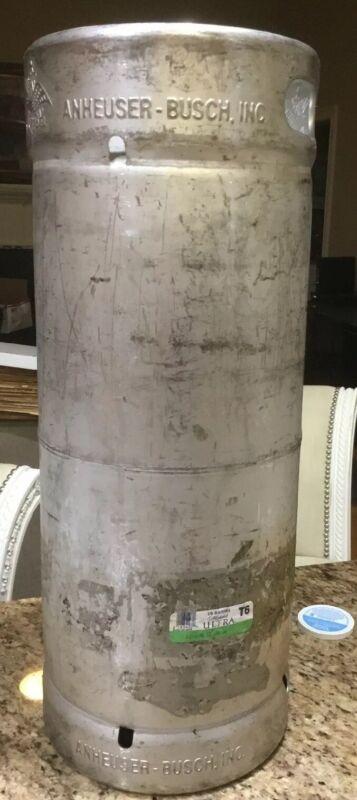 ANHEUSER BUSCH Stainless Steel 5.16 U.S. GALLON BEER KEG Brewing Rat Rod Tank