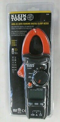 Klein Tools Digital Clamp Meter 400amp Ac Auto-ranging Low Battery Indicator