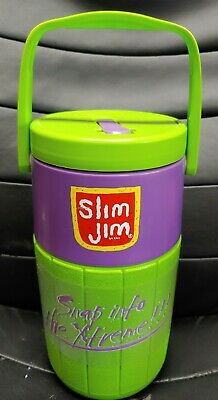 Vintage Slim Jim Xtreme Green/Purple XGAMES ESPN Coleman 5590 Water Jug