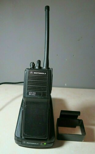 Motorola MTS2000 Model I VHF Radio H01KDD9PW1BN 136-174 MHz with Charger