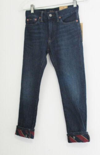 Polo Ralph Lauren Boys Sullivan Slim Cotton Jeans Cooper Wash Sz 14 - NWT
