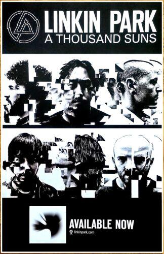 LINKIN PARK A Thousand Suns Ltd Ed RARE New Poster Display! CHESTER BENNINGTON