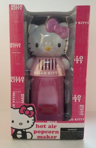 Hello Kitty - Hot Air Popcorn Maker - Pink/white