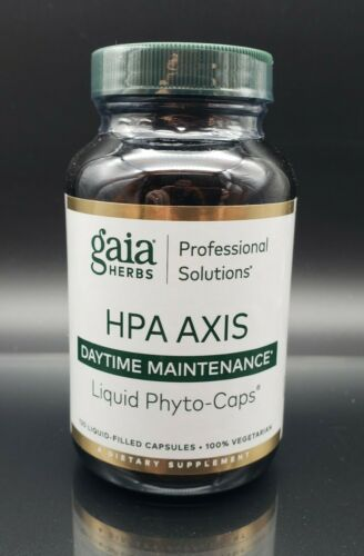 gaia HPA Axis Daytime Maintenance, 120 Liquid-Filled Capsules