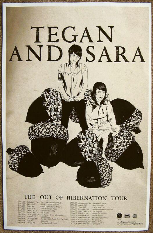 Tegan And Sara Poster Ebay