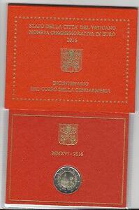 2-euro-Vatikan-2016-in-Originalblister-200-Jahre-Gendarmeriekorps-der-Vatikans