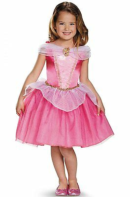 Disney Princess Aurora Sleeping Beauty Classic Toddler Child Costume - Disney Costums