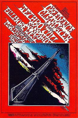 MINT Jethro Tull CCR 1969 BG 164 Fillmore Handbill