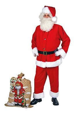 Nikolaus Kostüm Weihnachtsmann-Anzug aus - Große Weihnachts Kostüme
