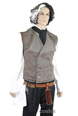 SWEENEY TODD VEST Halloween Costume Demon Barber Fancy](Sweeney Todd Halloween Costume)