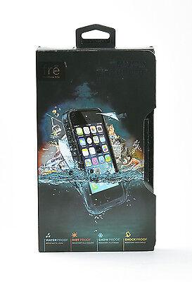 LifeProof fre Waterproof Water Dust Proof Hard Case for iPhone 5 5s SE Black NEW